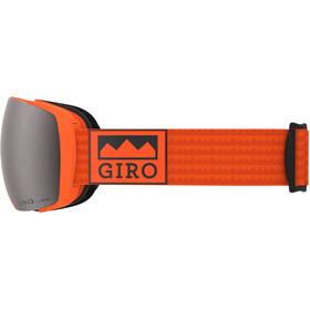 Giro Contact Maschera, orange alps/vivid onyx/vivid infrared